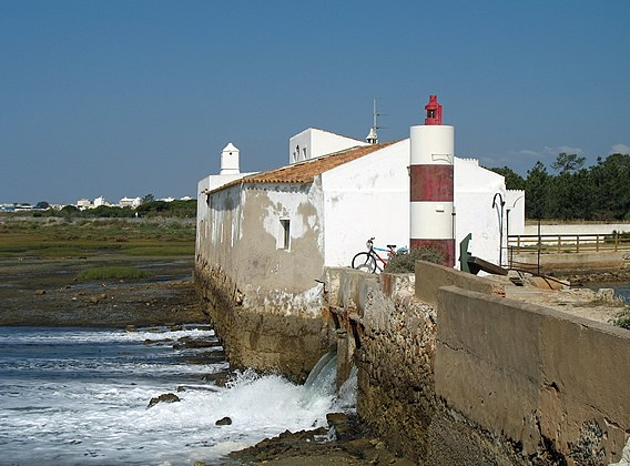 Tidal mill at Olhao, Portugal Olhao Tide Mill.jpg