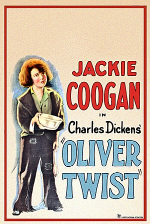 Oliver Twist (1922 film) - Film poster