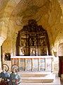 Olleros de Pisuerga - Ermita rupestre de San Justo y San Pastor, interior 01.jpg