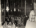 Omar Elwary the Mayor of Jerusalem in one of the Christian celebrations 1954 (2)..jpg