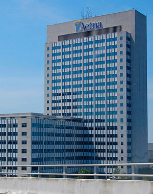 Aetna Building - Image: One Prudential Plaza Jacksonville 2010 07a