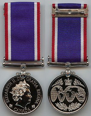 Operational Service Medal (Canada) - Image: Operational Service Medal Haiti