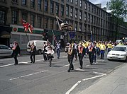 Orange parade Glasgow 1st June 2003