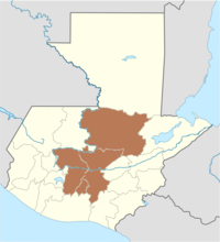 Zacualpa is located in Guatemala
