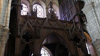 Notre-Dame-en-Vaux - Image: Orgues collégiale 0968