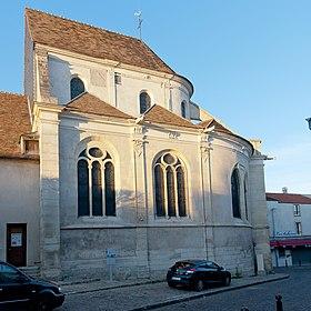L'église Saint-Germain-de-Paris, classée aux monuments historiques