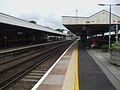 Orpington station platform 3 look north.JPG
