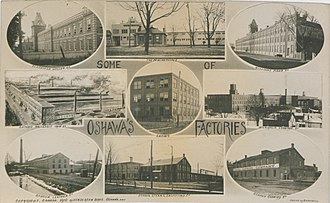 Oshawa - Oshawa Factories, 1910