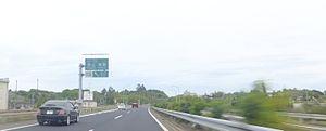 Chūgoku Expressway - Tsuyama, Okayama, Japan