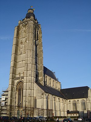 Church of Saint Walpurga in Oudenaarde. Oudena...