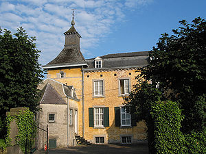 Ouffet - The castle (18th century)
