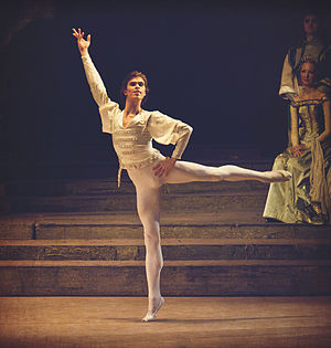 Raymonda - Artem Ovcharenko as Jean de Brienne, Bolshoi theater, 2011