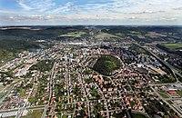Overhead view of Beroun, Czech Republic, 2010.jpg