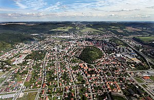 Overhead view of Beroun, Czech Republic, 2010.jpg