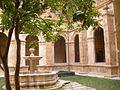 Oviedo - Museo Arqueólogico de Asturias (ex Monasterio de San Vicente), claustro 06.jpg
