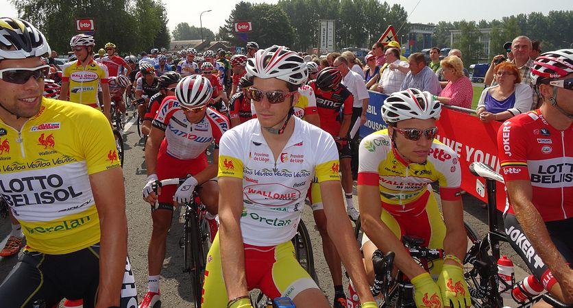 Péronnes-lez-Antoing (Antoing) - Tour de Wallonie, étape 2, 27 juillet 2014, départ (D12).JPG