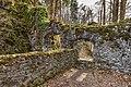 Pörtschach Leonstein Burgruine NW-Tor zum äußeren Hof 29032020 8611.jpg