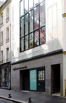 Description de l'image P1010768 Paris XIII rue des cinq diamants théâtre des 5 diamants reductwk.JPG.