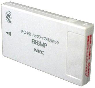 PC-FX - Image: PC FX Backup Memory Pack