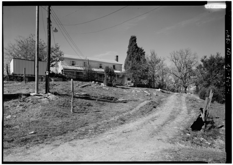 File:PERSPECTIVE VIEW OF EAST (FRONT) AND SOUTH SIDE - Joseph Parks Farm, 16442 Shepherdstown Pike, Sharpsburg, Washington County, MD HABS MD,22-SHARP.V,11-1.tif