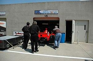 P. J. Jones - Jones' 2007 Indy 500 entry rests in the garage