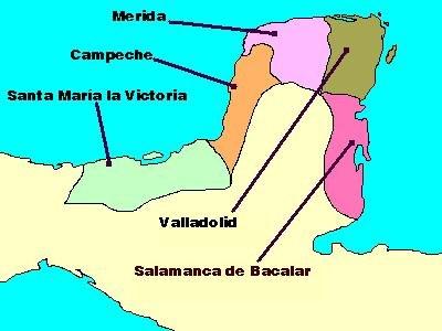 PROVINCIAS YUCATAN 1549