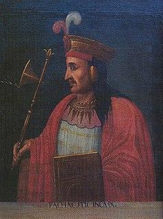 Pachacuti Sapa Inca of the Inca Empire