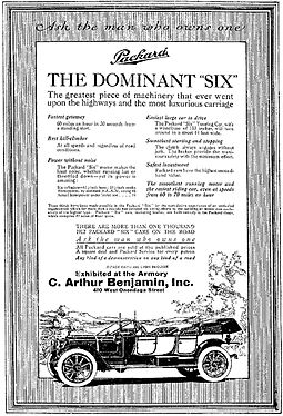 1912 Packard advertisement, Syracuse Herald, March 14, 1912 Packard 1912-0314.jpg