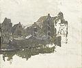 Pakhuizen aan de Teertuinen op het Prinseneiland te Amsterdam. Rijksmuseum SK-A-3559.jpeg