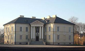 Stanisław Zawadzki - Palace in Dobrzyca