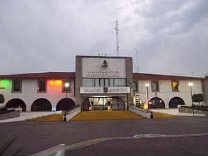 Atizapán de Zaragoza - Municipality Hall in Ciudad López Mateos.