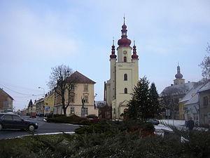 Ivanovice na Hané - Image: Palacké náměstí Ivanovice na Hané