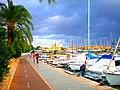 Palma de Mallorca - Un rincón del Paseo Marítimo - panoramio.jpg