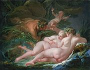 Francois Boucher: Pan i Siringa, 1759.