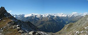 High Tauern - Panorama of the Venediger Group