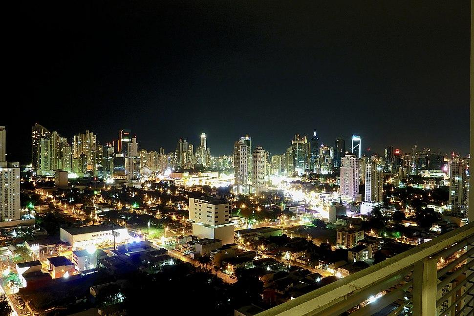 Panama City, Panama - Night Shot