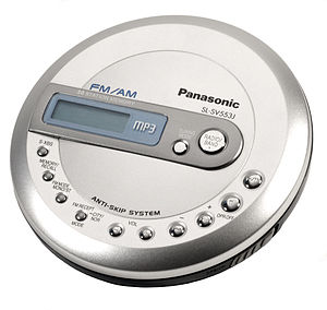 Compressed audio optical disc - A CD player capable of playing MP3 CDs