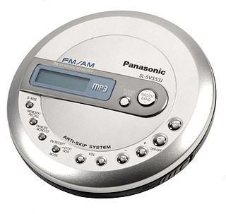 Compressed audio optical disc