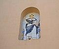 Panell ceràmic amb la imatge de sant Vicent Ferrer, església de l'Atzúvia.JPG