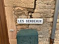 Panneau Gerbeaux Rue Gerbeaux - Solutré-Pouilly (FR71) - 2021-03-02 - 2.jpg