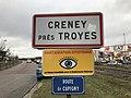Panneau entrée Creney près Troyes 1.jpg