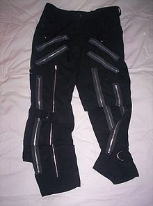 Bondage pants punk