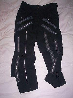 Bondage pants - Black bondage pants