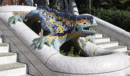 Parc Güell Dragon Restored.jpg