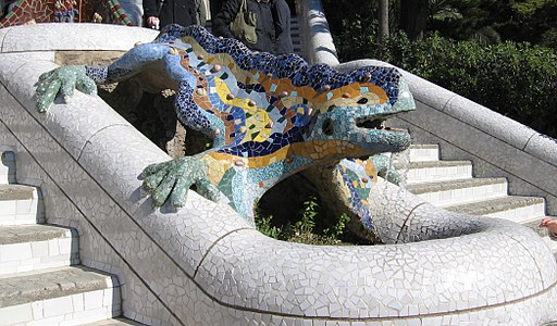 Parc Güell Dragon Restored