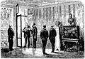 Paris. — S. M l'Empereur de Brésil visitant la Bibliothèque de l'Arsenal.jpg