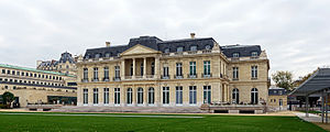 Château de la Muette - Château de la Muette, Paris in 2013