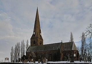Higher Walton, Lancashire village in the United Kingdom