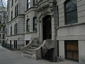 Park Slope - The architectural details of one of Park Slope's buildings