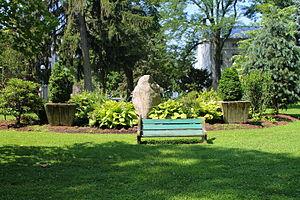 Lewisburg, Pennsylvania - Soldiers' memorial park in Lewisburg